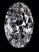 EGL CERT 052 CTW OVAL DIAMOND DSI1