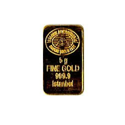 Gold Bars: 5 Gram Gold Bar Random Manufacturer