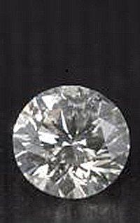 EGL CERT 0.53 CTW ROUND DIAMOND D/SI2