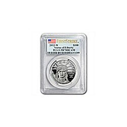 1 oz Proof Platinum American Eagle PCGS PR-70 First Str