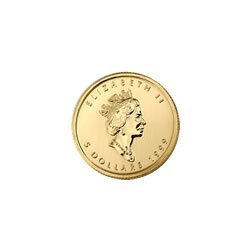 Canada Maple Leaf Tenth Ounce Gold Coin (Date Our Choic