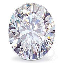 EGL CERT. 1.03 CTW DIAMOND OAVL H/SI1