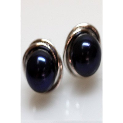 Natural 26.34 ctw Pearl Earring .925 Sterling