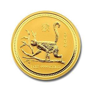 Australian Lunar Gold Quarter Ounce Gold Pig (Date of o