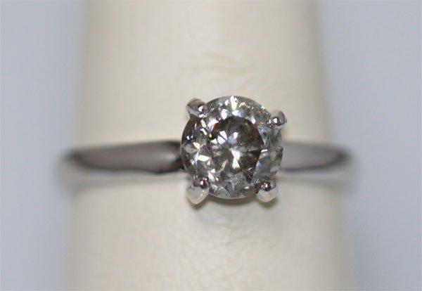 1.25 CTW 14K WHITE GOLD DIAMOND RING