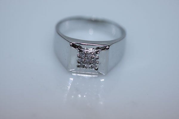 17.6 CTW CZ RING .925 STERLING SILVER