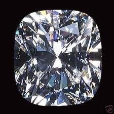 EGL CERT 1.07 CTW CUSHION CUT DIAMOND D/SI1