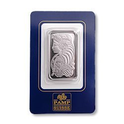 Pamp Suisse One Ounce Palladium Bar