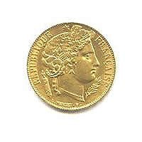 French 20 franc Cerus Gold Coin]