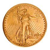 Early Gold Bullion $20 Saint Gaudens Extra Fine