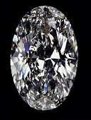 EGL CERT 154 CTW OVAL DIAMOND DSI1