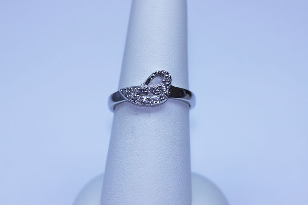 13.45 CTW CZ RING .925 STERLING SILVER