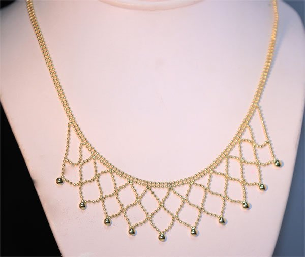 14K GOLD PLATED NECKLACE