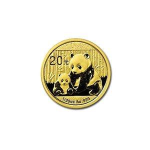 Chinese Gold Panda 20th Ounce