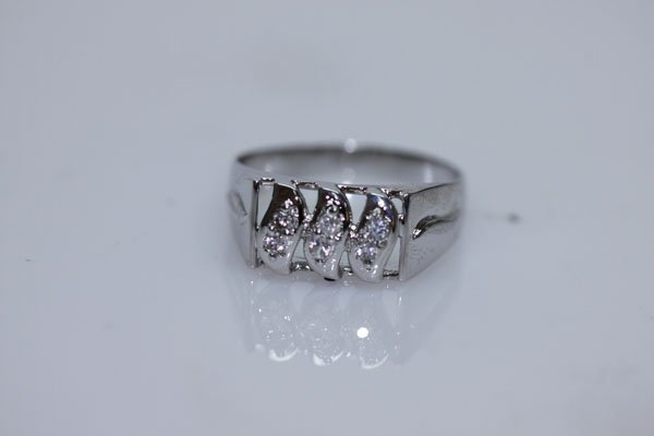 18.34 CTW CZ RING .925 STERLING SILVER