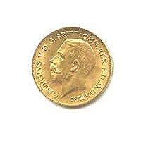 English Half Sovereign Gold Coin