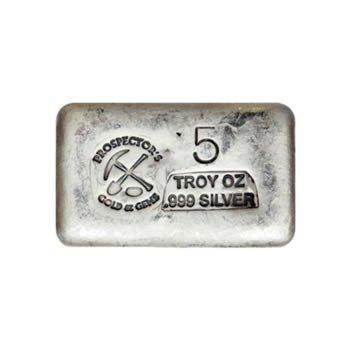 Silver Bar 5 Ounce .999 Fine