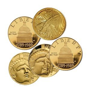 $5 Commemorative Gold (Dates Our Choice) (ONLY ONE COIN