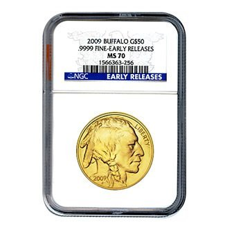 Certified Uncirculated Gold Buffalo MS70 Early Releases