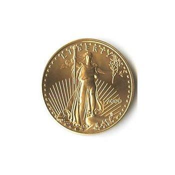 US American Gold Eagle Uncirculated One-Tenth Ounce (da