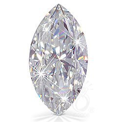 EGL CERT. 1.04 CTW DIAMOND MARQUISE F/SI2