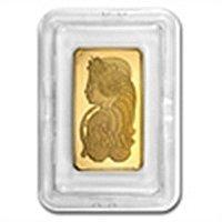 5 oz Pamp Suisse Gold Bar .9999 Fine (In assay)