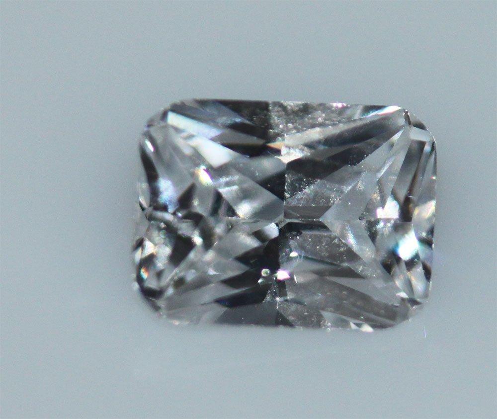 EGL CERT 1.01 CTW EMERALD CUT DIAMOND H/SI1