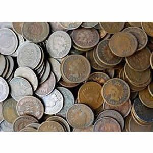 Indian Head Cents Good or Better 1,000 pcs.