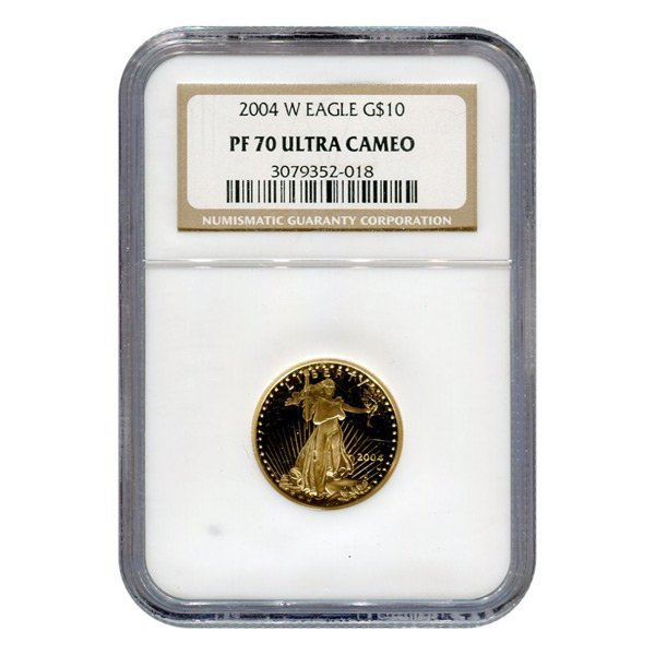 Certified Proof American Gold Eagle $10 PF70 NGC (Date