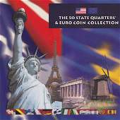 The 50 State Quarters  Euro Coin Collection