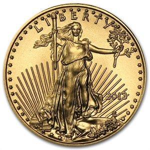 1/10 oz Gold American Eagle - Brilliant Uncirculated (d