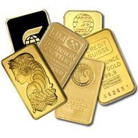 Gold Bars: One Ounce Gold Bar (Manufacturer Our Choice)