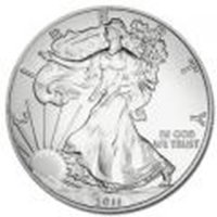 Uncirculated Silver Eagle (Date of our choice)