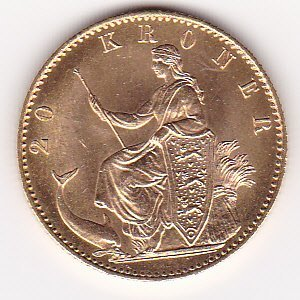 Denmark 20 kroner gold (Date of our choice)