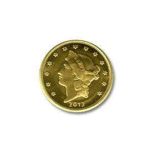Tenth Ounce Gold Round