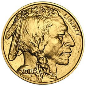 Uncirculated Gold Buffalo Coin One Ounce (Date of our c