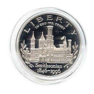 US Commemorative Dollar Proof 1996-P Smithsonian