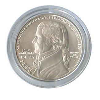 US Commemorative Dollar Uncirculated 2005-P Chief Justi