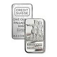 One Ounce Palladium Bar (Manufacturer Our Choice)