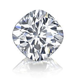 EGL CERT. CUSHION DIAMOND 1.66 CTW I/VS1
