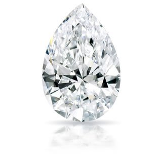 EGL CERT 1.1 CTW PEAR DIAMOND D/SI2