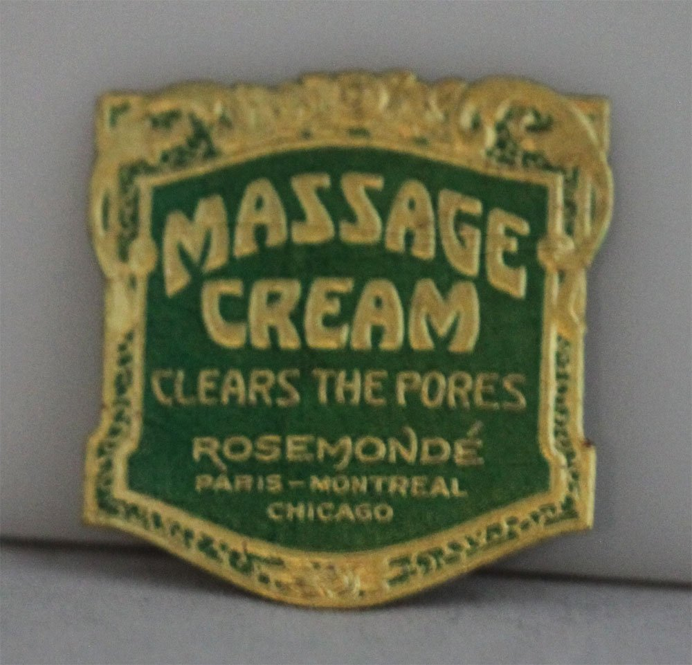 COLLECTORS EDITION MASSAGE CREAM LABEL