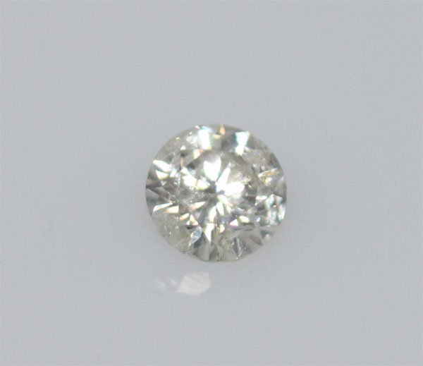EGL CERT 0.52 CTW ROUND DIAMOND F/SI2