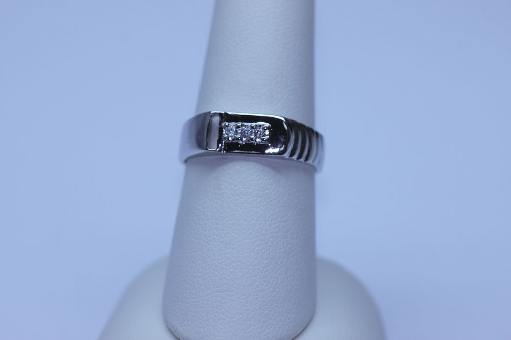 14.2 CTW CZ RING .925 STERLING SILVER
