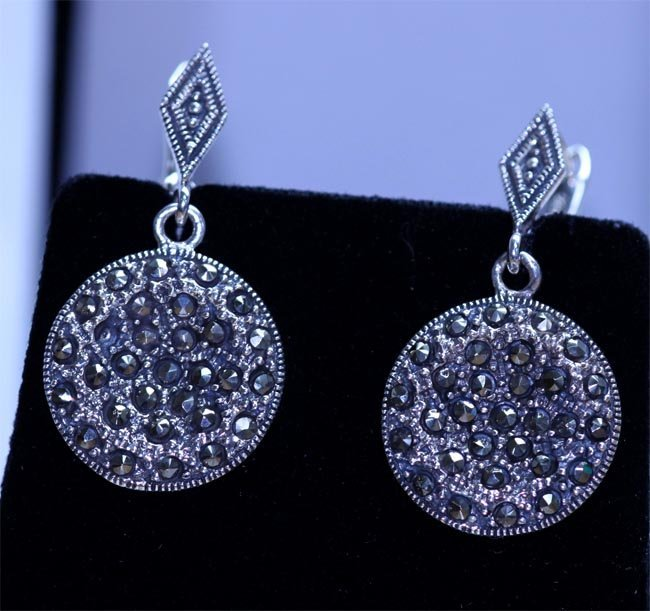 44.80 CTW ANTIQUE LOOKING JEWELRY .925 STERLING SILVER