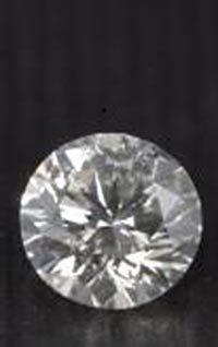 EGL CERT 0.58 CTW ROUND DIAMOND D/SI2