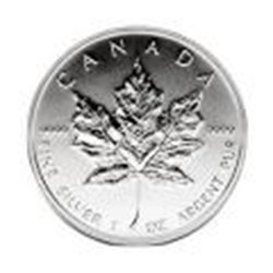 Canadian Silver Maple Leaf 2009