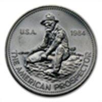 1984 (Eagle) - 1 oz Engelhard Prospector Silver Round .