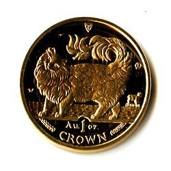 Isle of Man Gold Cat 1 Ounce