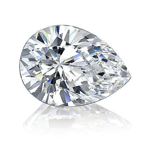 EGL CERT 1.11 CTW PEAR SHAPED DIAMOND E/SI1
